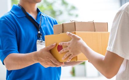 Copos de papel entregas
