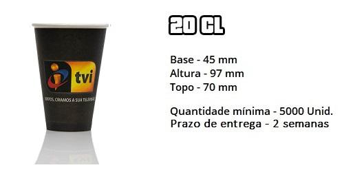 Copo 20cl TVI